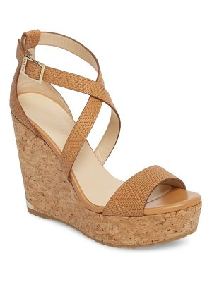Jimmy Choo 'portia' platform wedge