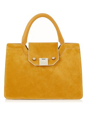 Jimmy Choo REBEL TOTE/S Golden Suede Tote Bag