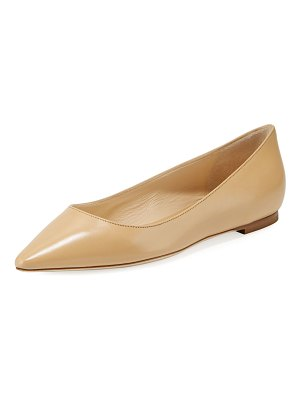 Jimmy Choo Romy Leather Skimmer Ballet Flats