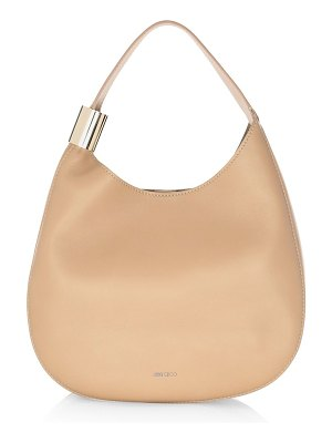 Jimmy Choo stevie leather hobo bag