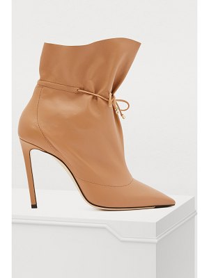 Jimmy Choo Stitch 100 ankle boots