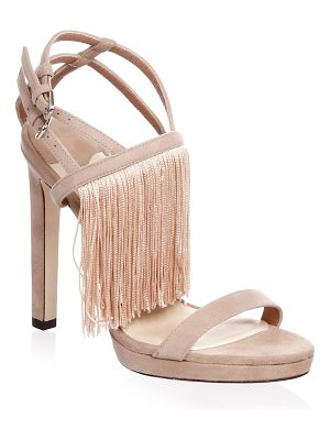 JIMMY CHOO Suede Stiletto Sandals