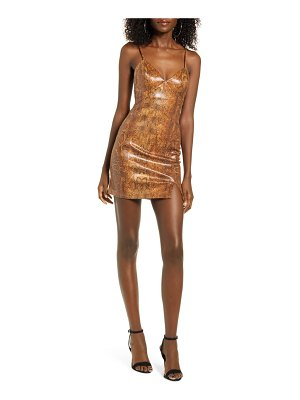 J.O.A. body-con minidress