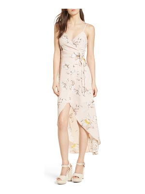 J.O.A. Faux Wrap Midi Dress