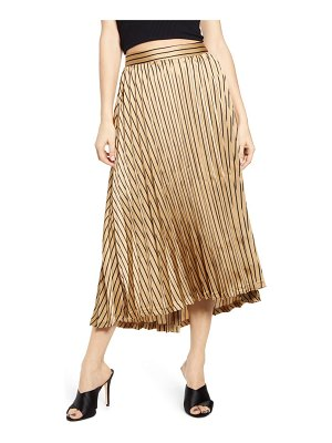 J.O.A. pleated midi skirt