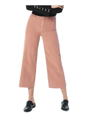 Joe's high waist corduroy crop flare pants