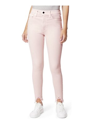 Joe's the charlie high waist destroyed hem ankle skinny jeans