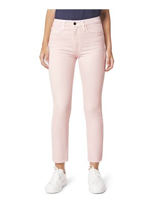 Joe's the luna high waist raw hem ankle cigarette jeans