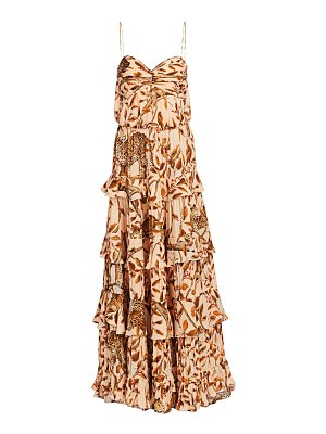 Johanna Ortiz all i've ever known sleeveless ruffle dress