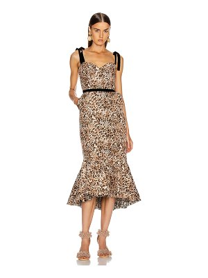 Johanna Ortiz love between species midi dress