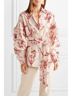 Johanna Ortiz rushcutters bay printed cotton-poplin shirt