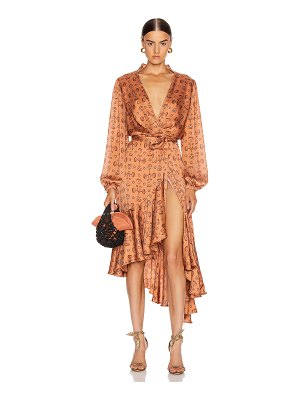 Johanna Ortiz spiritual relations wrap dress
