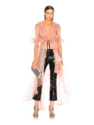 Johanna Ortiz Tamarindo Silk Organza Dress