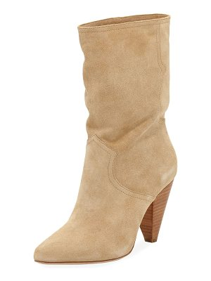 JOIE Gabbissy Slouchy Suede Mid-Calf Boot