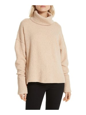 Joie lirona turtleneck wool blend sweater