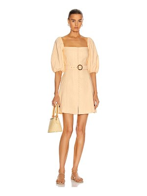 Jonathan Simkhai emery belted mini dress