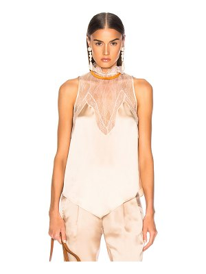 Jonathan Simkhai Lingerie Sleeveless Top