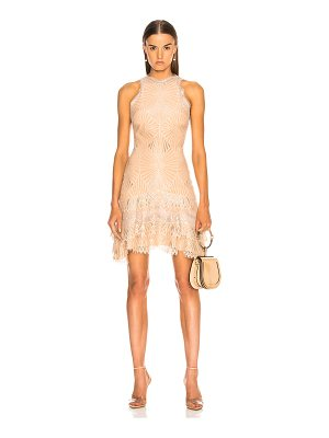 Jonathan Simkhai Metallic Mini Dress