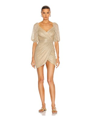 Jonathan Simkhai nina mini wrap dress