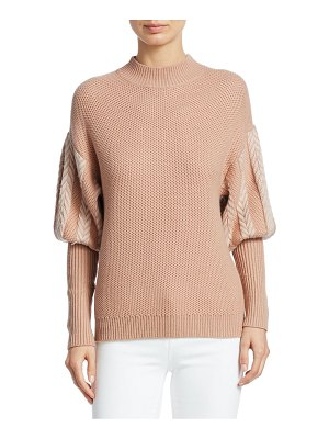 Jonathan Simkhai wool puff sleeve sweater