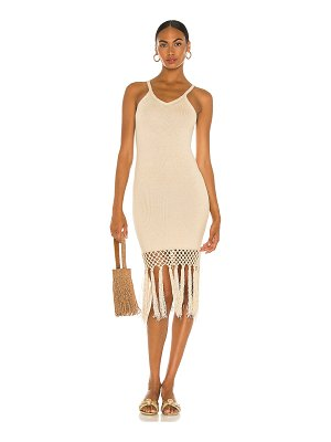 JoosTricot tassels midi dress
