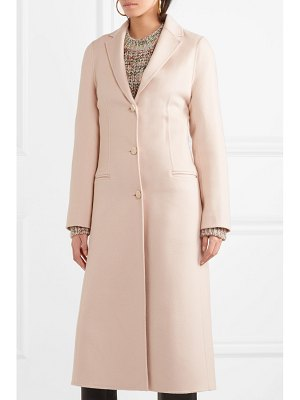 Joseph archi brushed wool and silk-blend coat
