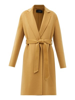Joseph cenda wool-blend wrap coat