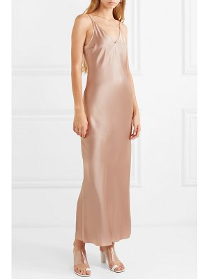 Joseph clea silk-satin maxi dress
