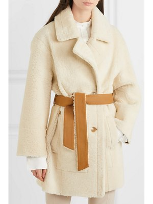 Joseph jimmy double-breasted shearling coat