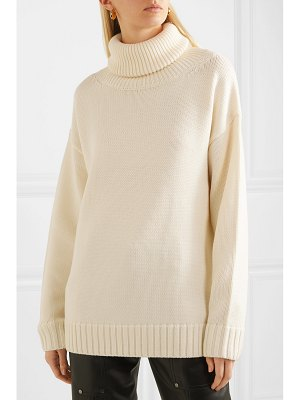 Joseph sloppy joe oversized wool turtleneck sweater