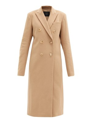 Joseph virgin wool-blend double-breasted coat