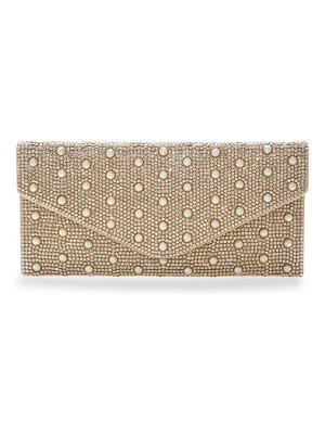 Judith Leiber Couture envelope crystal clutch