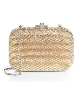 Judith Leiber Couture slide crystal clutch