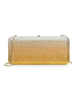 Judith Leiber Couture slim rectangle crystal clutch