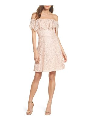 JULIA JORDAN Off The Shoulder Lace Dress