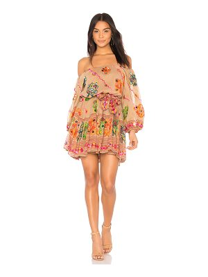 JULIET DUNN Tribal Boho Dress