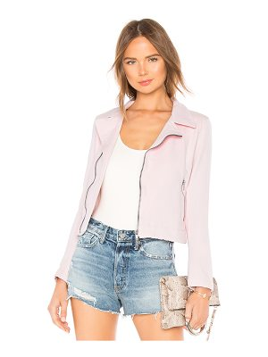 June Distressed Stretch Moto Jacket