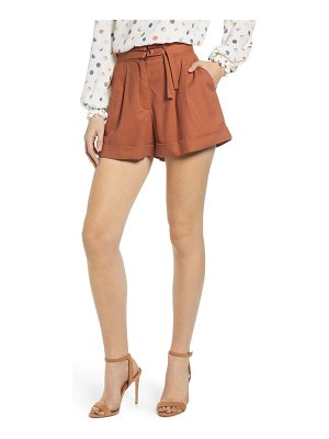 June & Hudson pleated shorts