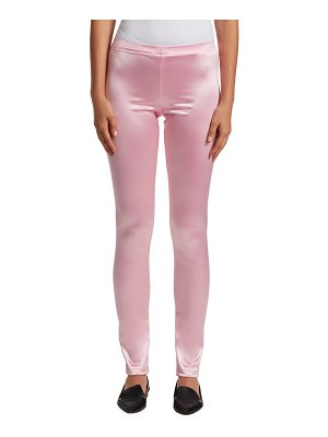 Junya Watanabe nylon satin stretch leggings