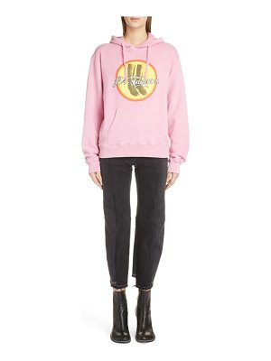 J.w.anderson boots cola hoodie