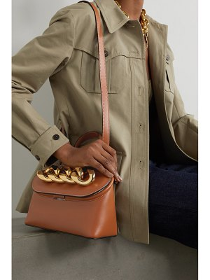 J.w.anderson chain lid small leather shoulder bag