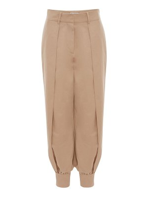 J.w.anderson Cotton canvas flax tapered pants