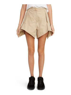 J.w.anderson curved hem chino shorts