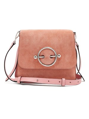 J.w.anderson Disc small leather cross-body bag
