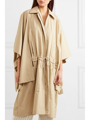 J.w.anderson oversized cotton-gabardine trench coat