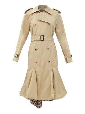 J.w.anderson panelled-hem cotton-gabardine trench coat