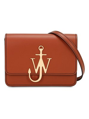 J.w.anderson Small anchor logo leather shoulder bag