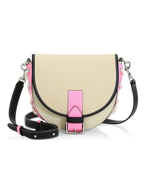J.w.anderson small leather crossbody bike bag