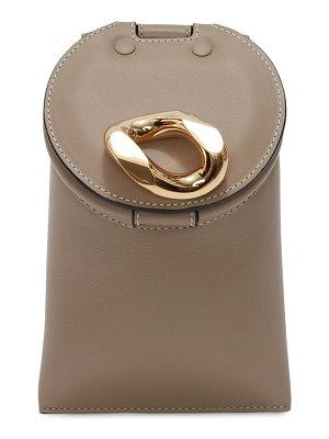 J.w.anderson Smooth leather lid bucket bag