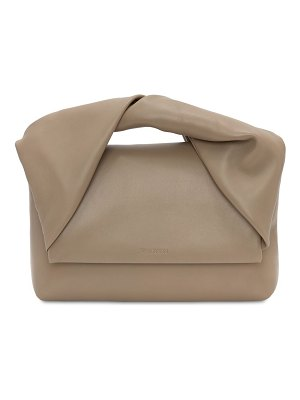 J.w.anderson The twister nappa leather top handle bag